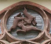 Drei Hasen Fenster von Paderborn